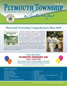 Icon of Plymouth Spring 2018 Newsletter