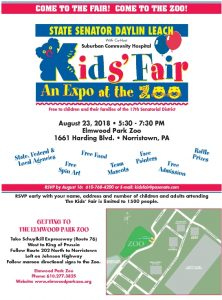 Icon of Kids Fair Flyer
