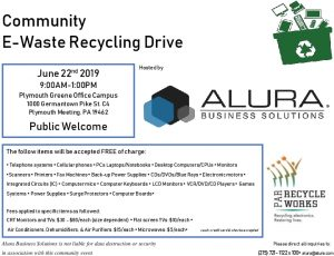 Icon of Alura Community E-Waste Recycling Event