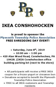 FREE Shredding Day Event – Plymouth Township