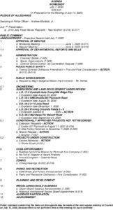 Icon of 7. Workshop Agenda - July 2020