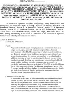 Icon of Draft Zoning Ordinance Amendment- Communal Living And Airbnb (Clean) (01111956xC305A) (003) (002)