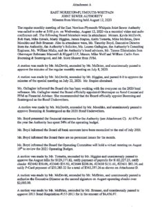 Icon of 8. ENPWJSA - August 2020 Minutes