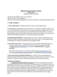Icon of 4. Environmental Advisory Board - April 2021 Minutes