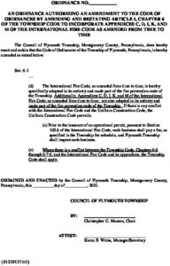 Icon of Ordinternationalfirecodeamendment2021 Sept