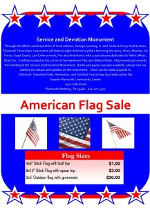 Icon of Flag Sale Flyer