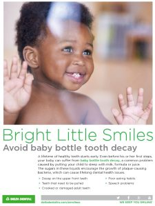Icon of Baby Bottle Tooth Decay - Flyer