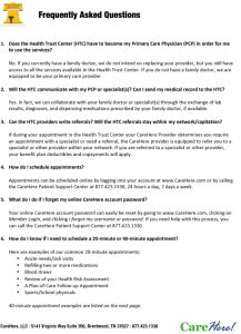 Icon of DVHT Frequently Asked Questions And Answers