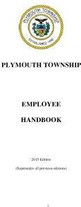 Icon of Plymouth Township Employee Handbook
