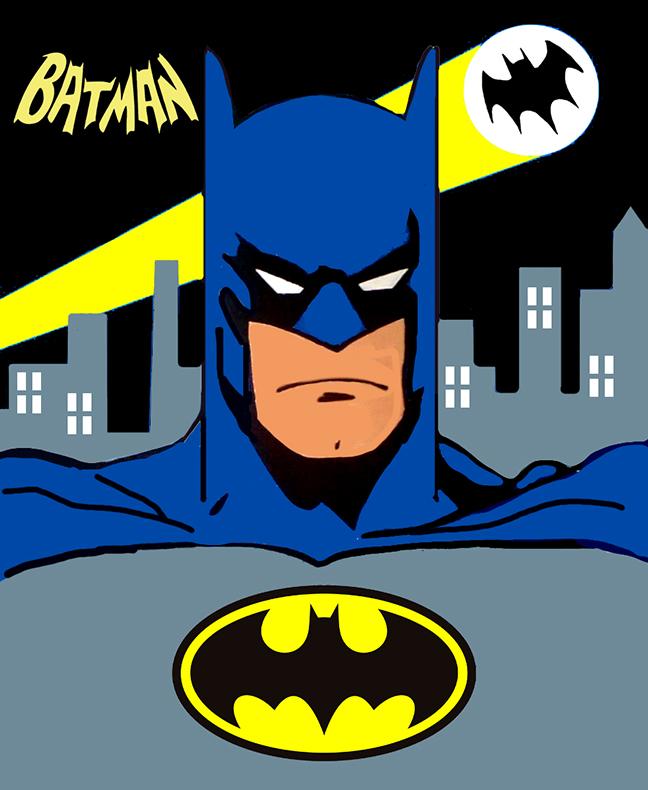 Kids Paint Class- Batman @ Greater Plymouth Community Center